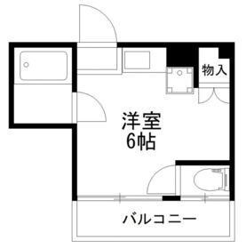 パークサイドハウス三浦 202号室の間取り