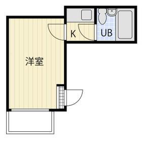 セドルハイム桜台C 203号室の間取り