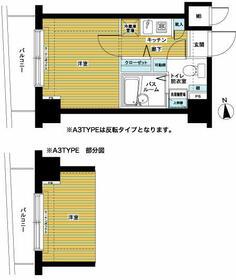 トーシンフェニックス桜上水弐番館 603号室の間取り