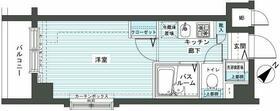 フェニックス新横濱エオール 309号室の間取り