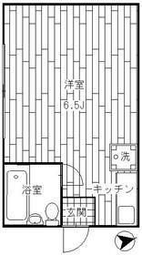 中川コ-ポ 201号室の間取り