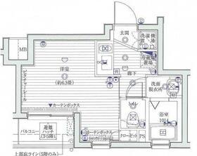 ル・リオン練馬富士見台 302号室の間取り