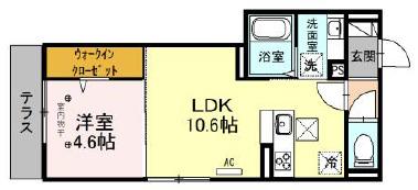 仮)D-room新座市東北 101号室の間取り