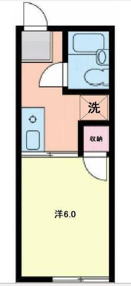 湘南アートハイツ 101号室の間取り