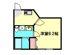 ベルウッド小田原 301号室の間取り