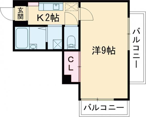 第3吉沢ビル 502号室の間取り