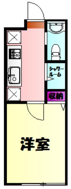 アイビーⅤ 305号室の間取り