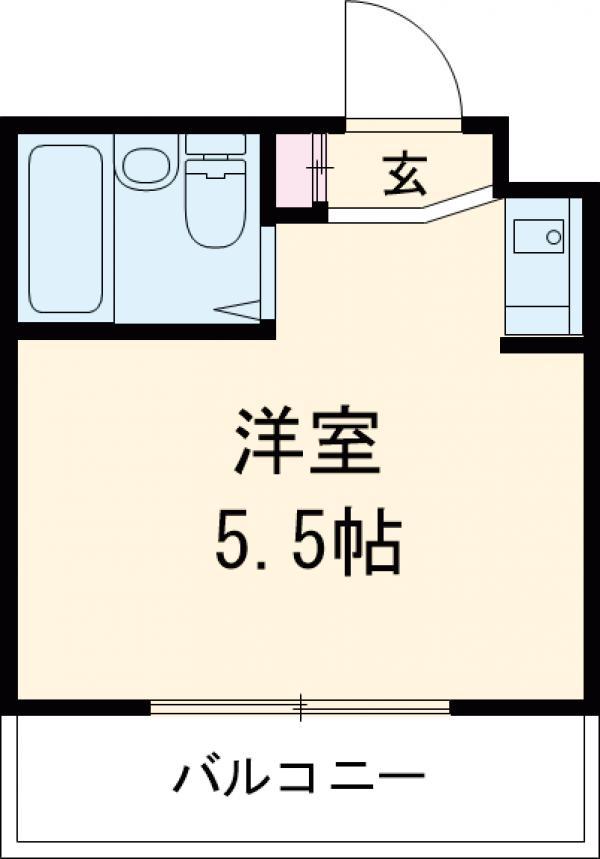 クアルト上井草 303号室の間取り