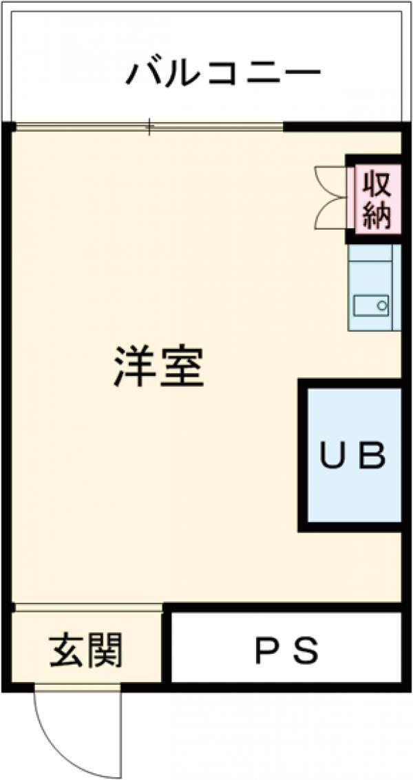 浅井ビル 305号室の間取り