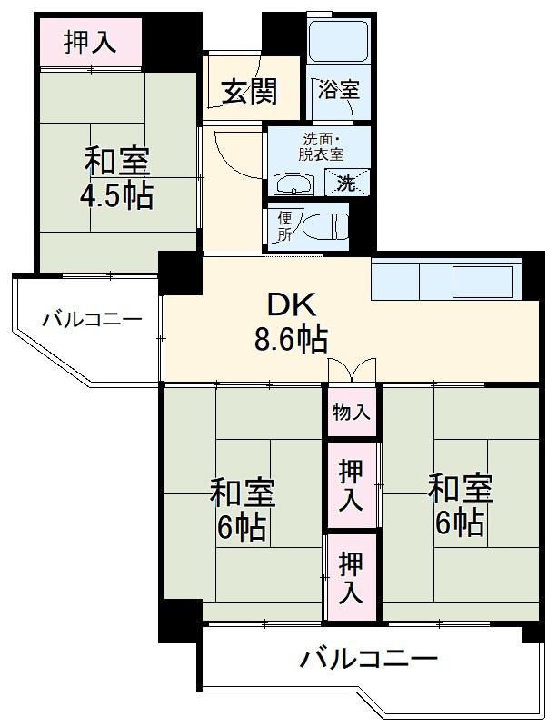 新着賃貸5:愛知県名古屋市千種区千代が丘の新着賃貸物件