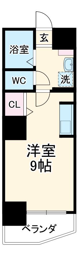 第3さくらマンション中央 403号室の間取り
