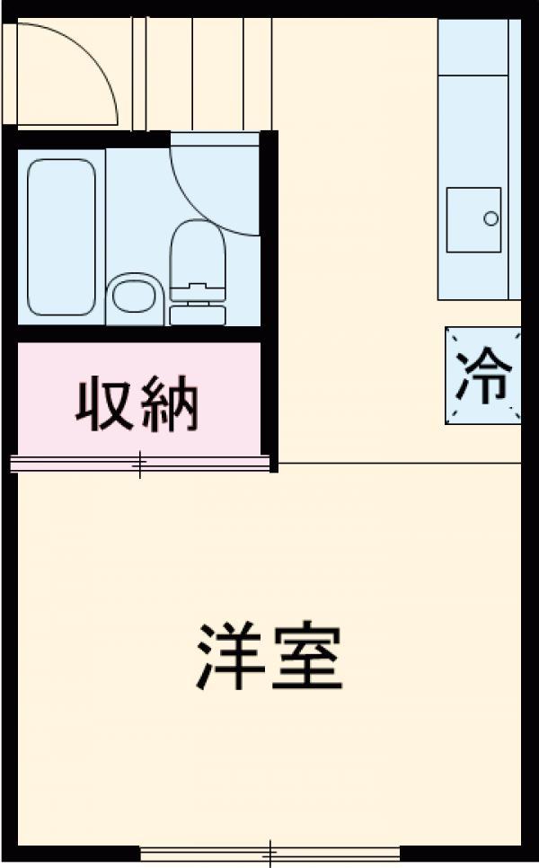 京王電器ビル 302号室の間取り