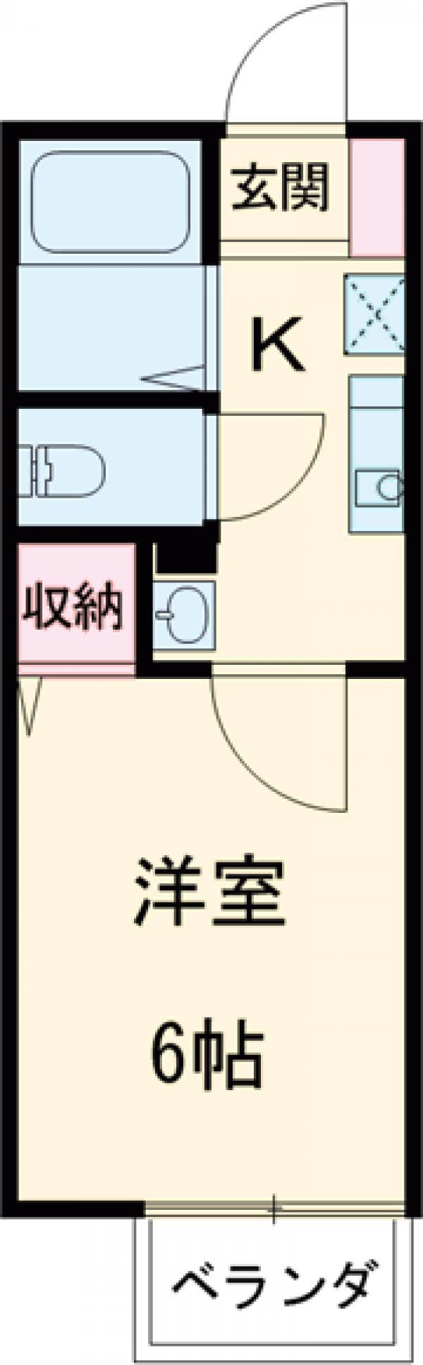 ソミュール百草Ⅰ 102号室の間取り