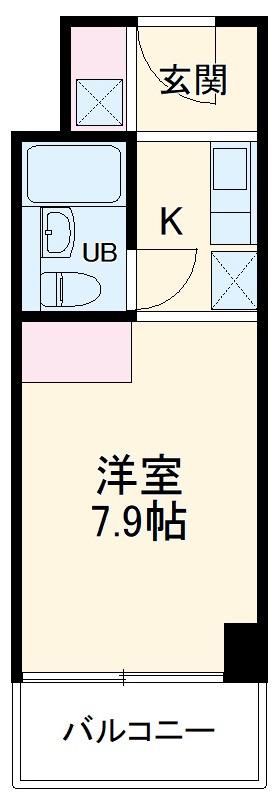 ガーデンヒルズ聖蹟桜ヶ丘 707号室の間取り