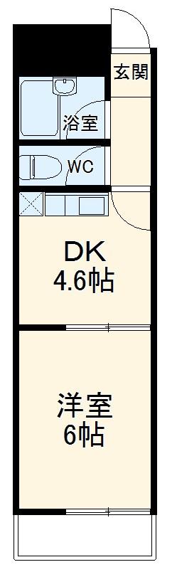 A-Flat 404号室の間取り