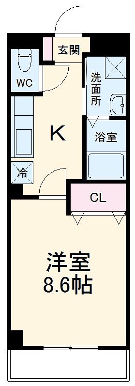 咲が丘1丁目新築マンション 103号室の間取り