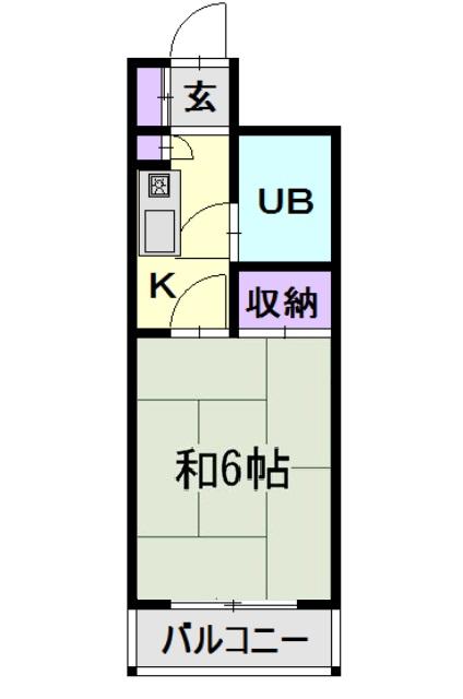 CASA NOAH 名古屋Ⅲ 220号室の間取り