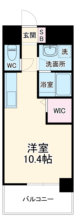 OT.residence名駅 4E号室の間取り