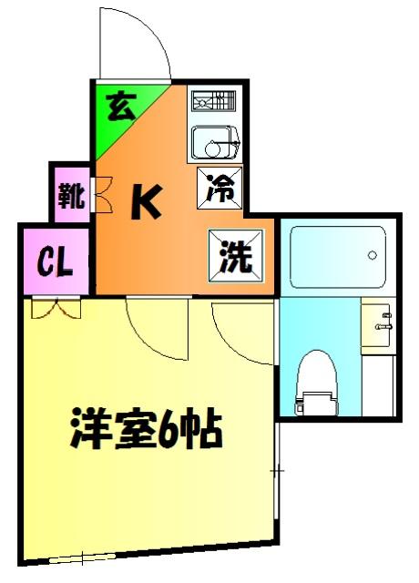 hacco house(ハッコハウス) 102号室の間取り