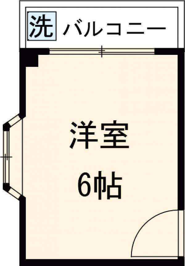 コミュニティハウス綾瀬 201号室の間取り