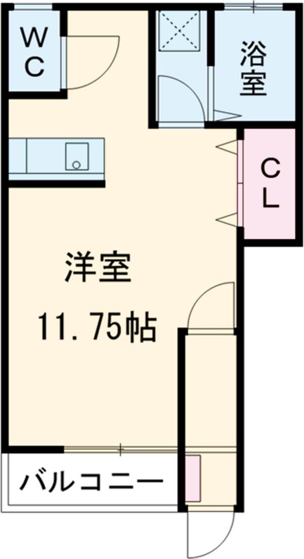 エールハウス 101号室の間取り