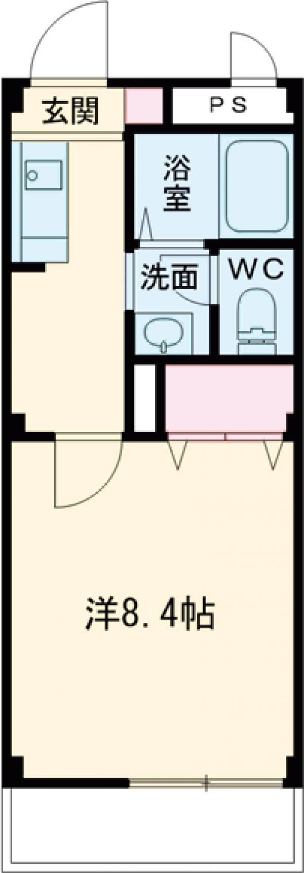 リリズマンション 303号室の間取り