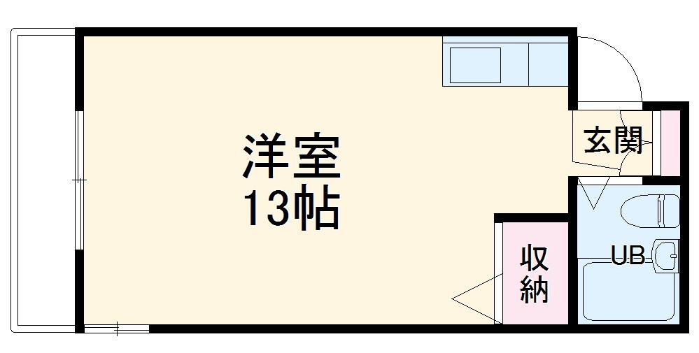 第5野本ビル 202号室の間取り