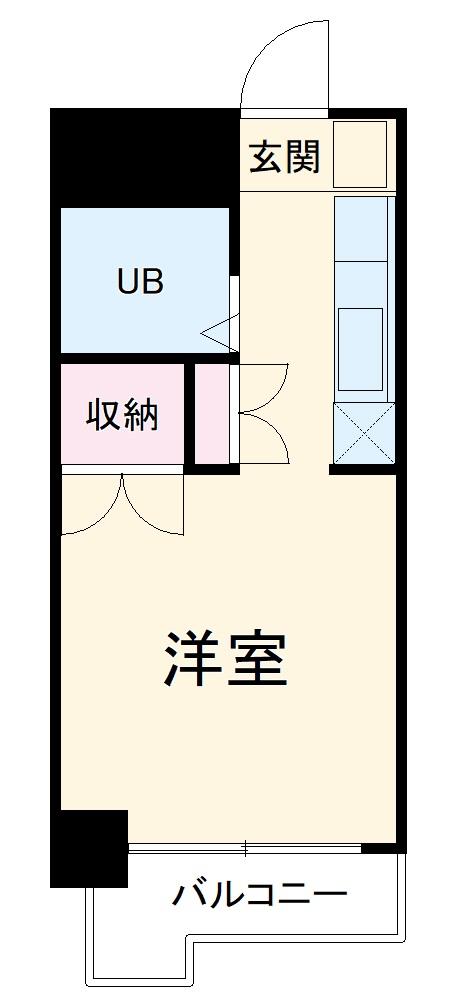 ガーデンヒルズ横浜 215号室の間取り