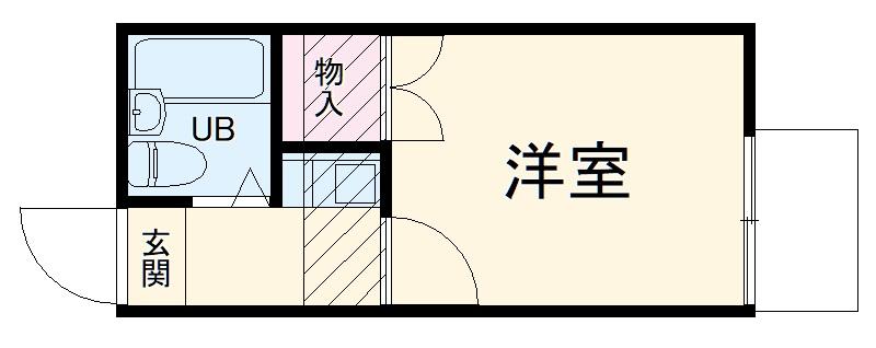 戸塚第20レジデンス 104号室の間取り