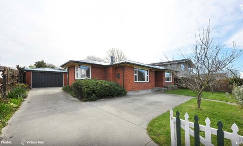 Upper Riccarton, 6 Bucknell Street Auction 01 Oct 2020 (Unless Sold Prior)