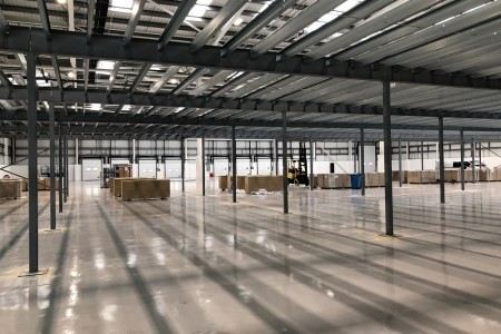 Technical production company has spotlight on growth with new warehouse facility}