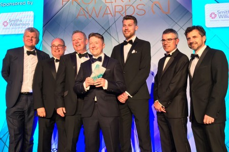 <strong>Fab Four industry awards for property consultancy Vail Williams</strong>}