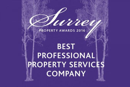 <strong>A Hat Trick of Wins in the Surrey Property Awards.</strong>}
