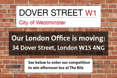 Our London Office is moving from Chandos Street to a lovely new home in Dover Street.}