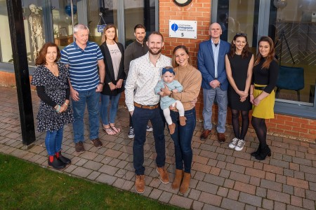 <strong>Chichester Chiropractic Health Centre celebrates relocation to Vinnetrow Business Park</strong>}