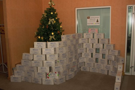 Vail Williams: Christmas Charity Donations 2015}