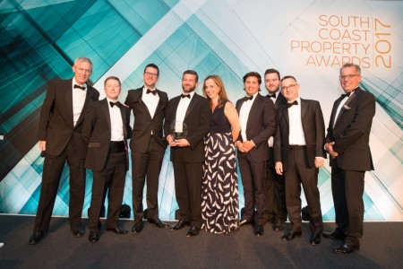 Vail Williams takes home award for client service at South Coast Property Awards}