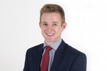 <strong>Graduate surveyor, Thomas Horton, joins from Oxford Brookes University</strong>}