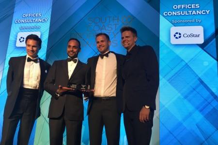 Newly merged Hughes Ellard and Vail Williams celebrate award success}