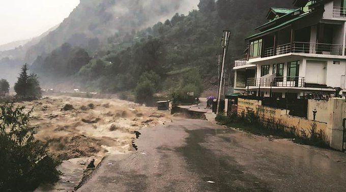 Jammu and Kashmir: Heavy rain alert issued, more than 100 roads closed