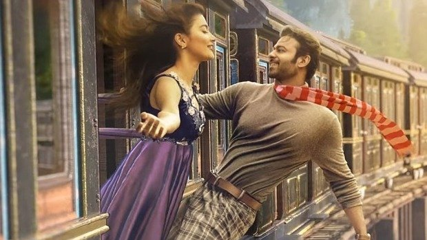 Prabhas new poster release from radhey-shyam