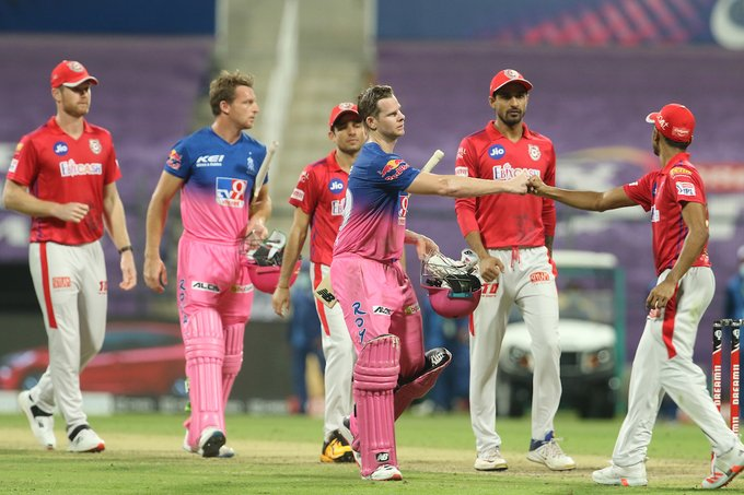 IPL 2020 KXIP vs RR: Rajasthan Royals Win By 7 Wickets