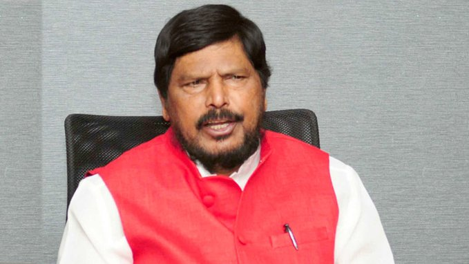 Ramdas Athawale admitted to hospital after testing positive for COVID-19