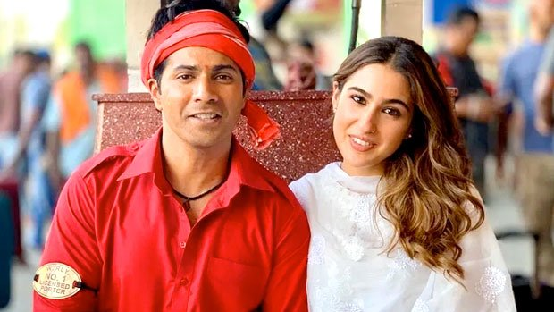 varun dhawan and sara ali khan film coolie no 1 trailer release