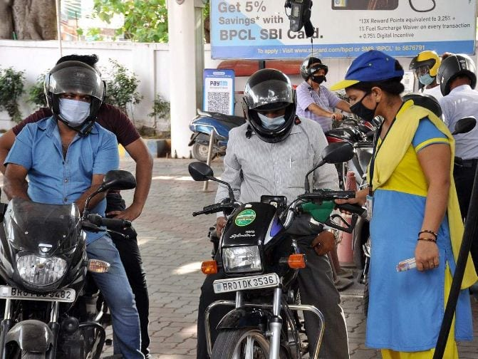 Petrol and diesel prices touch fresh record highs on wednesday