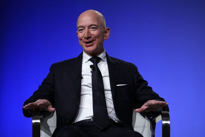 Amazon's jeff bezos once again becomes world's richest person
