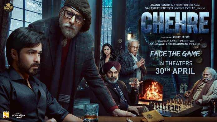 Amitabh bachchan and emraan hashmi starer chehre releasing in cinemas on 30th april