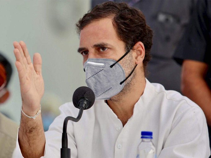 Rahul Gandhi said right to life also for those without internet provide walk in vaccines for all without online registration
