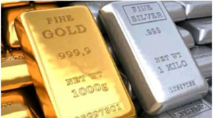 Gold-Sliver Price Today: Gold prices fall silver also slips know the prices
