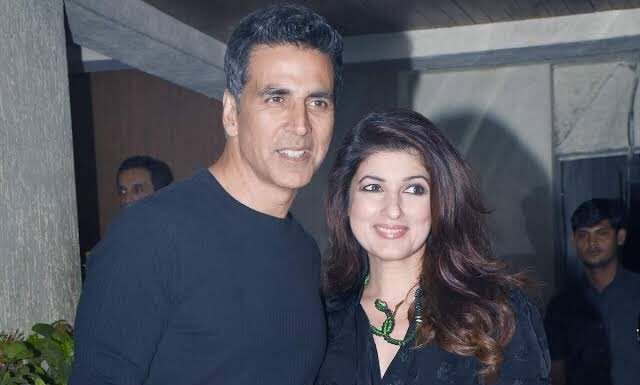 Twinkle khanna took to instagram to inform akshay kumar fans and followers that he is back home